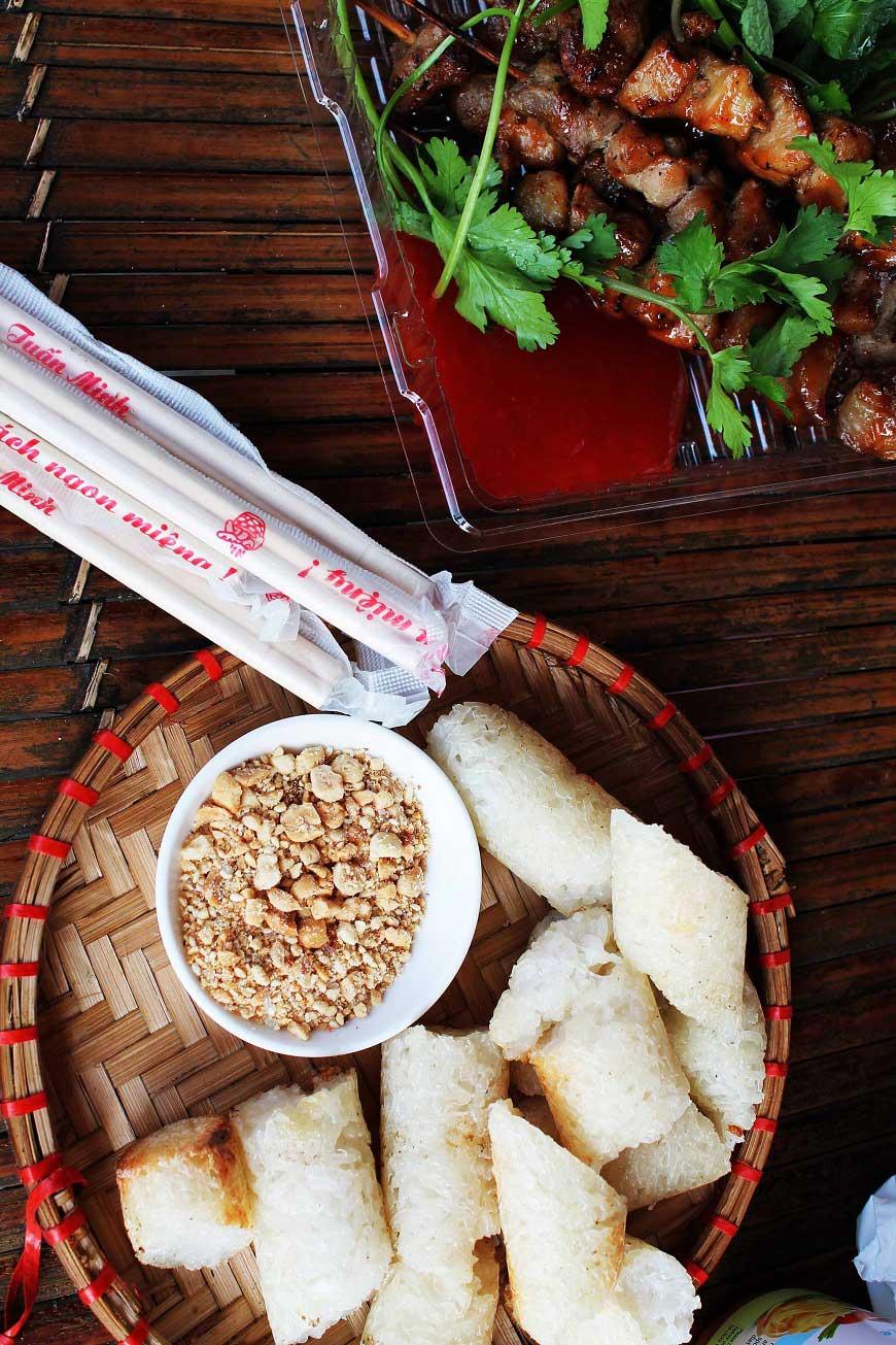 Vietnamesische Fleischspieße