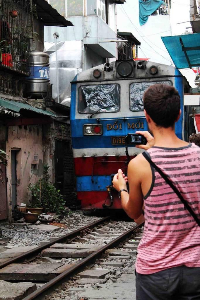 Reiseroute durch Vietnam