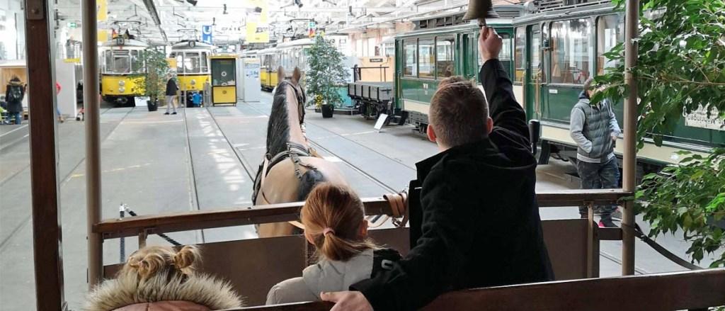Straßenbahnmuseum Stuttgart mit Kindern
