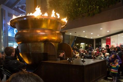 Brennende Schüssel - Winter Carnival Newcastle
