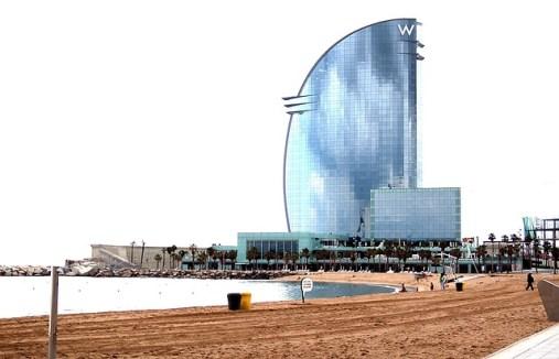 W Barcelona Hotel - Barcelona - Reisen mit Kids