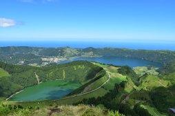Lago Azul - São Miguel - Azoren - reisenmitkids.de
