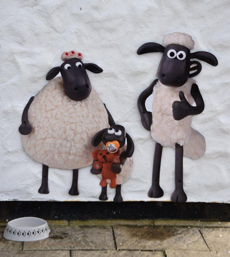 Das Schaf in Land's End