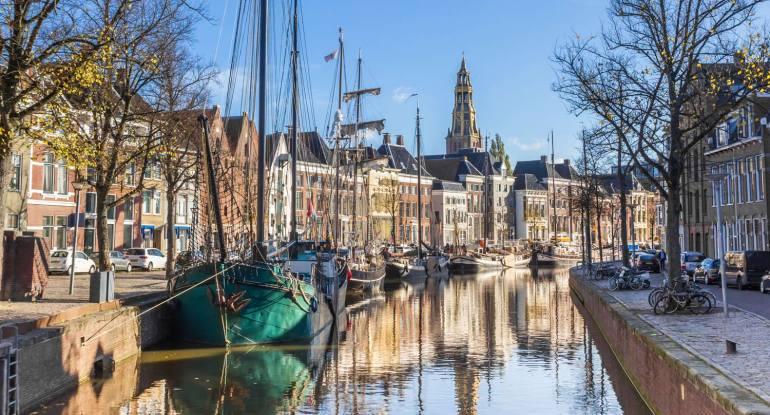 Grachten in Groningen