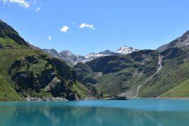 Panorama Lac de Cleuson