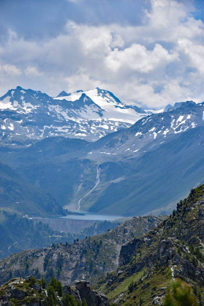 Vom Dent de Nendaz zum Lac de Cleuson