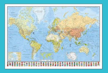 Weltkarte Magneten