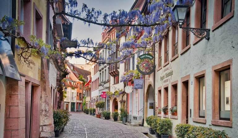 Konviktstraße in Freiburg