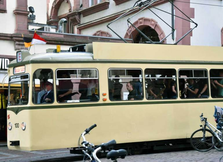 Erlebniswagen der Straßenbahn