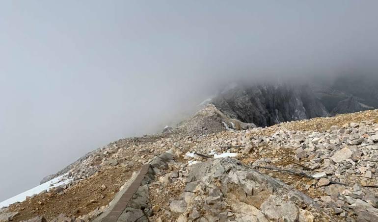 Zugspitze NEbel