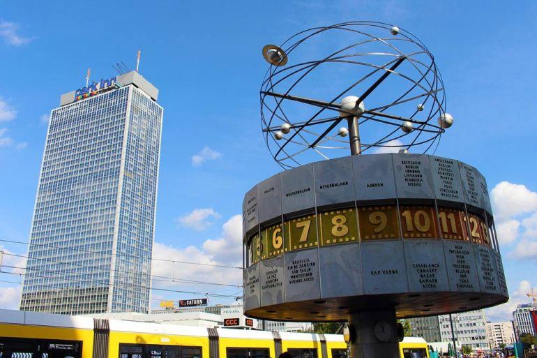 Weltzeituhr Alexanderplatz