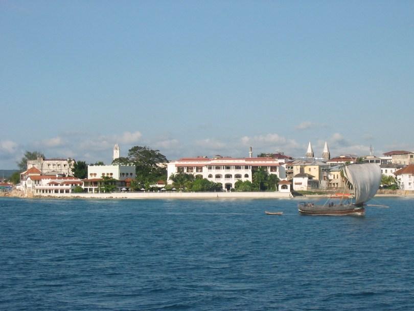 Blick auf Sansibar