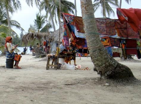 Kuna-Frauen mit ihren Tüchern