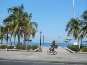 Strandpromenade von Santa Marta
