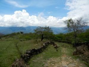 Wanderweg von Guane nach Barichara