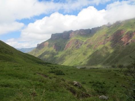Guene Berge im Valle Calchaquíes