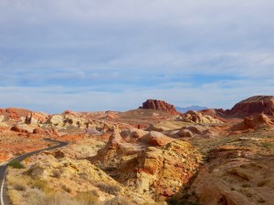 Scenic Road im Valley of Fire State Park