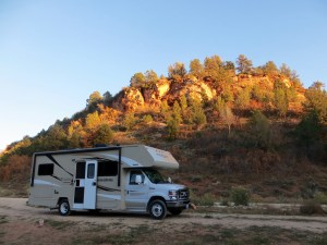 Hi-Road Camp Ground am Osteingang des Zion NP
