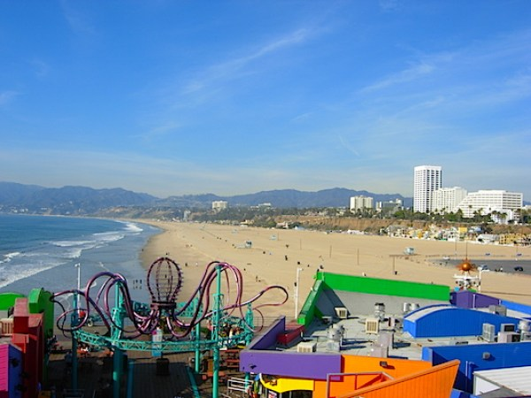 Reisetips fra Los Angeles: santa monica pariserhjul