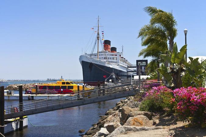 Queen Mary i Long Beach