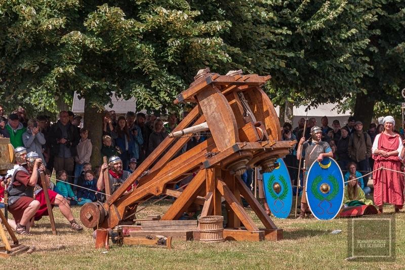 Römerfest - Die Römer kehrten nach Xanten zurück 2