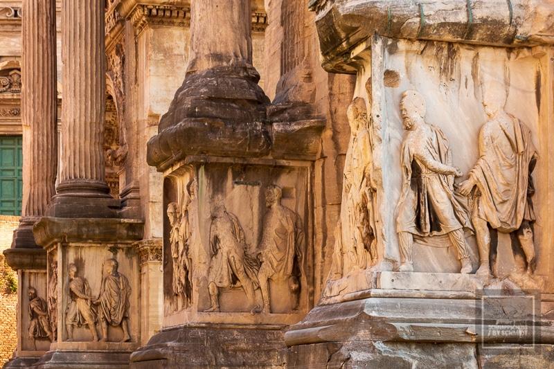 Sehenswürdkeiten in Rom - Forum Romanum