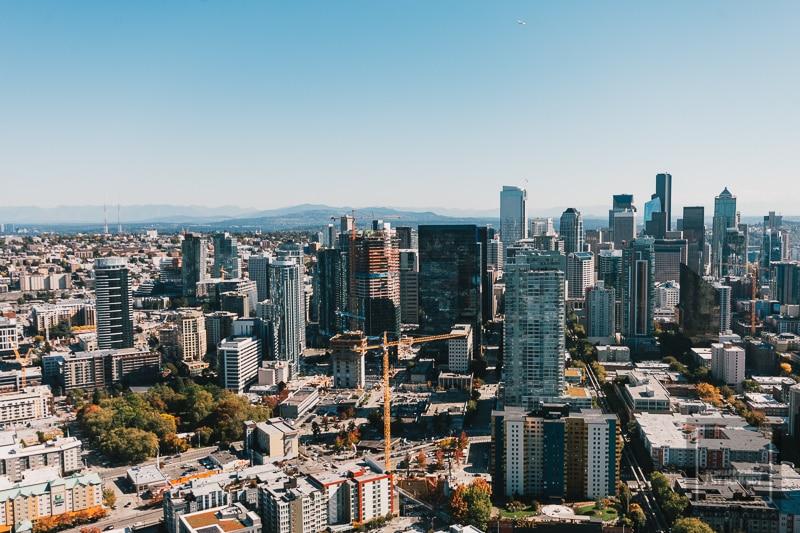 Rundreise USA - Seattle Skyline