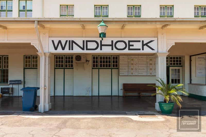 Namibia Rundreise - Bahnhof Windhoek