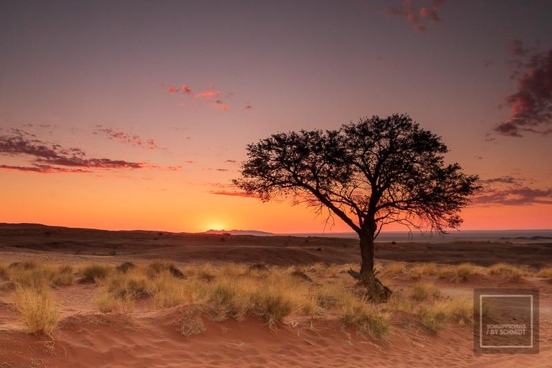 Namibia Rundreise - Sonnenuntergang