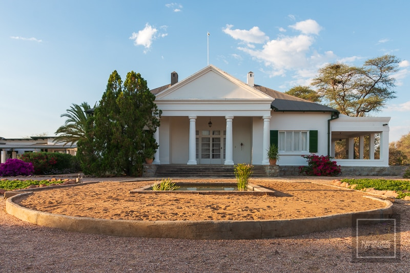 Namibia Rundreise 3 - Etendero Haupthaus