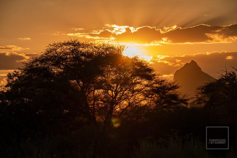 Namibia Rundreise 3 - Sonnenaufgang