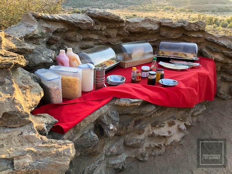 Namibia Rundreise 4 - Frühstück