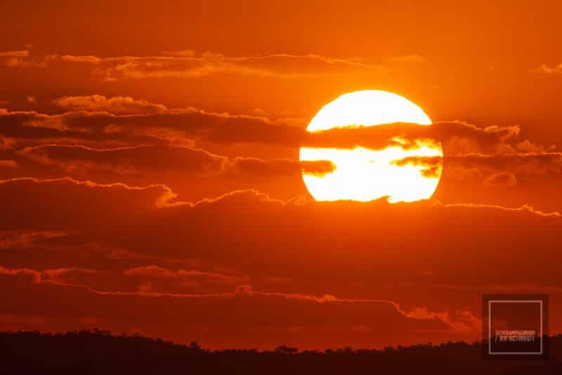 Namibia Rundreise 4 - Sonnenuntergang
