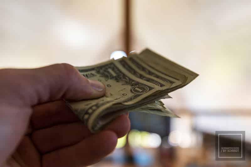 Reisekreditkarte Dollar