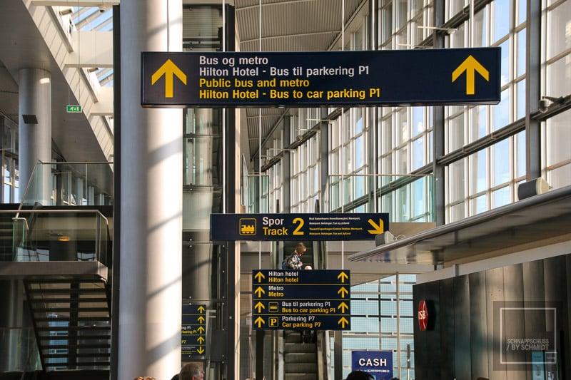 Kopenhagen - Flughafen