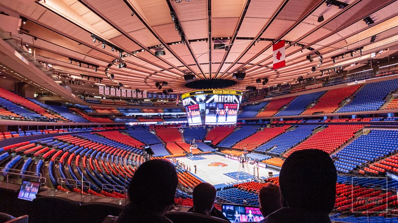 New York City - Madison Square Garden Halle