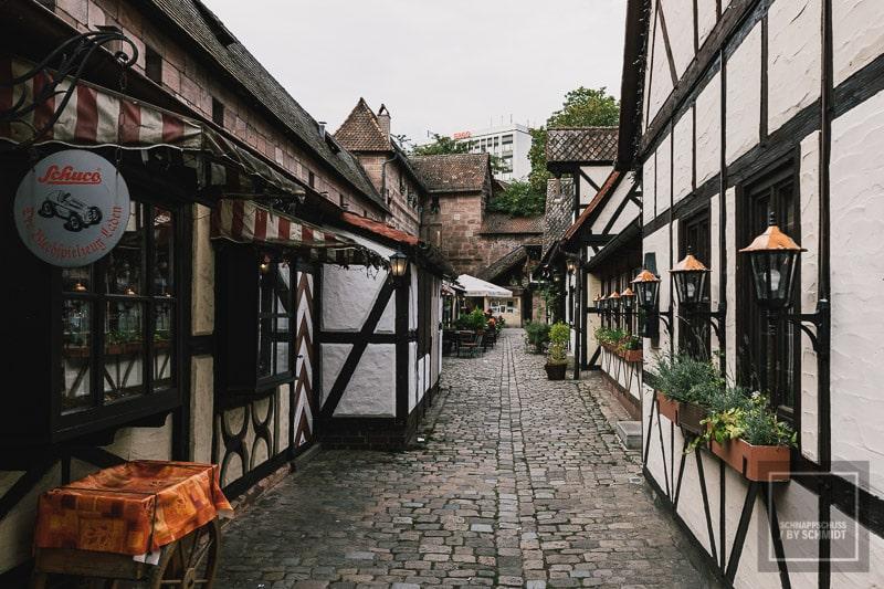Nürnberg Sehenswürdigkeit Handwerkerhof