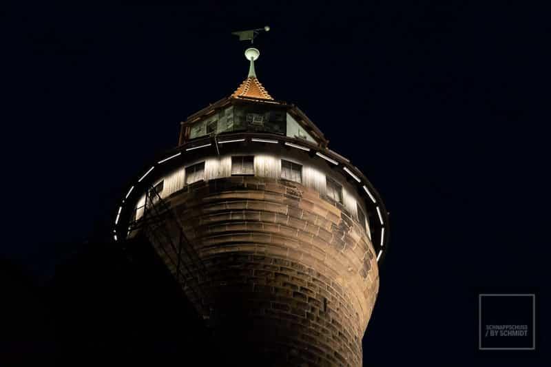 Nürnberg Sehenswürdigkeit Kaiserburg Turm