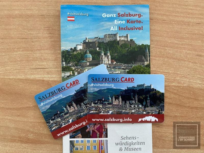 Salzburg Sehenswürdigkeiten - Salzburg Karte