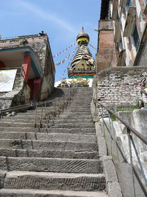 Nepal - Reisen - Reisetipp - Kathmandu - UNESCO Weltkulturerbe - Swayambhunath - Hauptstupa