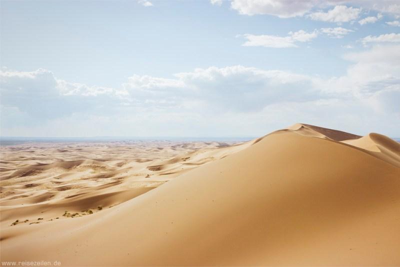 Mongolei Wüste Gobi Khongorijn Els Sanddüne