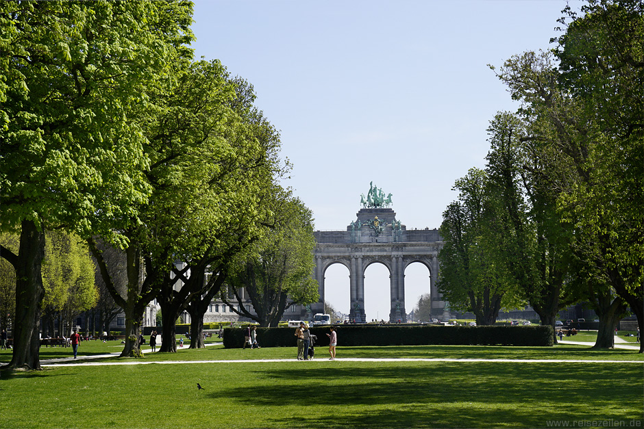 Brüssel_Triumphbogen Jubelpark