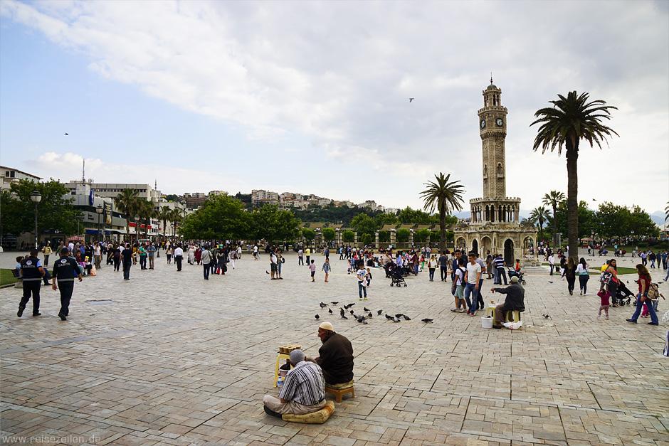 Reisen Reisebericht Reisetipps Türkei Türkische Ägäis Izmir Uhrenturm
