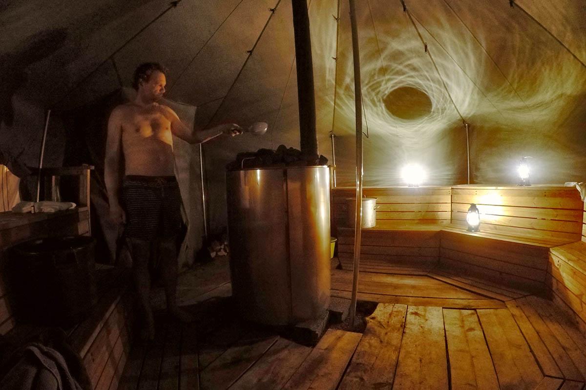 Sauna Finland - Revontuli The Northern Lights Resort Finland - Reislegende.nl