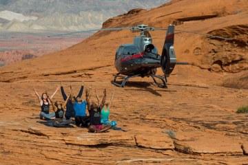 Heliyoga - yoga op reis