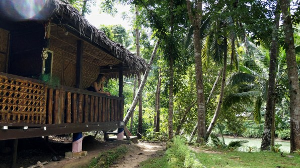 Rondreis Filipijnen: Nuts Huts Bohol junglehut