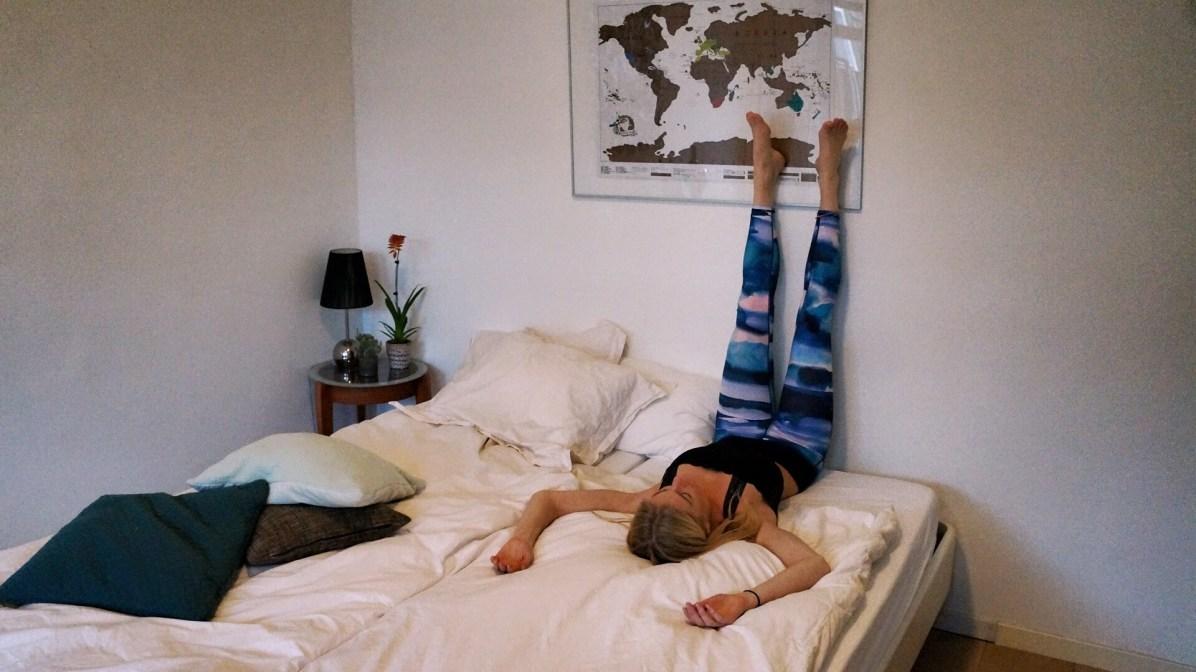 Yoga-elke-dag.Gebroken-kaars