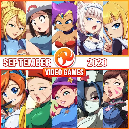 September VideoGame Pack!