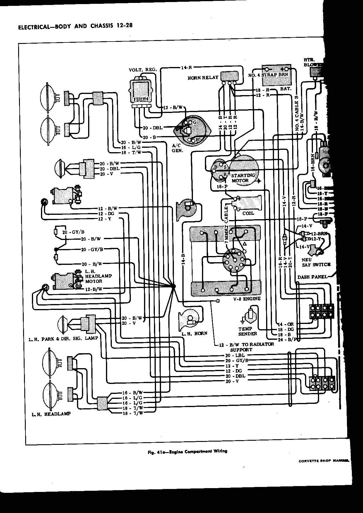 63 Corvette Wiring Diagram