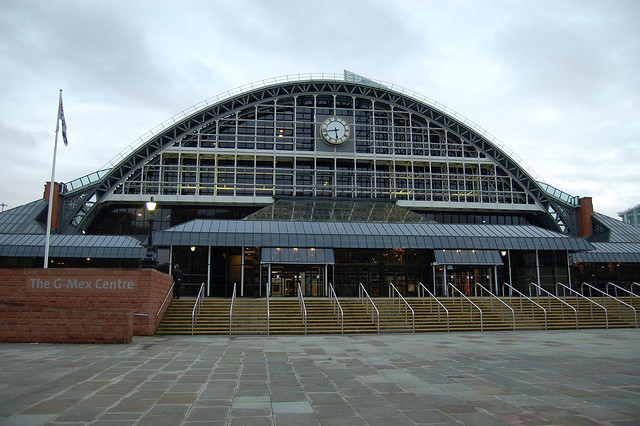 Manchester Central, of ook wel G-Mex.